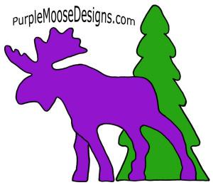 Larry the Purple Moose