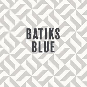 Batiks-Blue