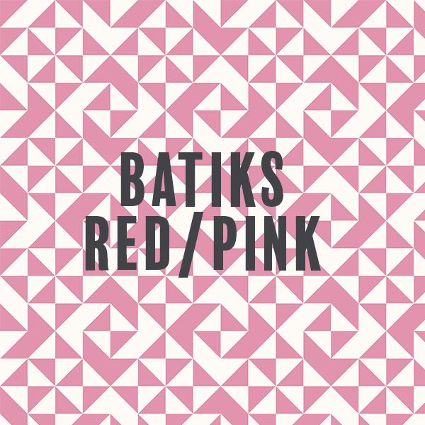 Batiks-Red/Pink