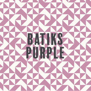 Batiks-Purple