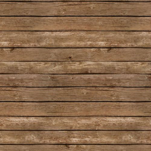 Brown Fence Wood Grain