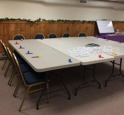 Purple Moose Retreats - Discussion Table